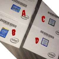 Stiker Processor Intel Core i3