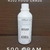 Hidrogen Peroksida Food Grade / H2O2 / Hydrogen Peroxide 500 gram
