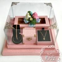 Kotak Seserahan cincin, kalung, gelang & uang