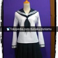 Seifuku chitanda eru-Hyouka cosplay-japan/korean uniform kostum