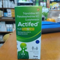 Actifed Plus Expectorant Syrup Limited