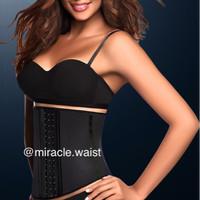 Miracle Waist Trainer size S BLACK / Waist Shaper/Korset Pelangsing