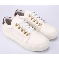 Sepatu Casual Sneakers Wanita Cewek Cewe Sneaker Warna Putih SL 017 CZ