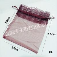 Tile CL, Kantong/Sarung Tile serut untuk kemasan Souvenir