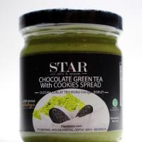selai spread / jam star green tea cookies 215 gram