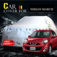 Body Cover / Sarung Mobil Nissan March Polyesther Waterproof