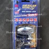 AMERICAN SECURE Gembok Rem Cakram Motor / Disc Brake Lock Tool Amtool