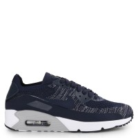 Sepatu Original Nike Air Max 90 Ultra 2.0 Flyknit - College Navy/White
