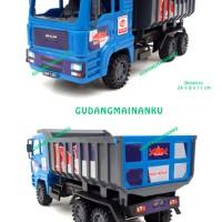 Mainan Mobil Truk Dump Truck Friction Mika