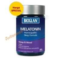 [PROMO] Bioglan Melatonin 90 Tablet / Membantu Tidur Nyenyak
