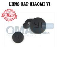 Lens Cap Protect Pelindung Cover for Xiaomi Yi Cam - Black