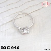 harga Cincin Xuping Silver Ring Tipis Permata Batu Zircon Oc 940 Tokopedia.com