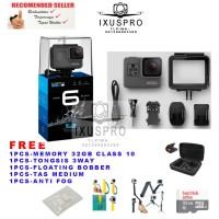 GOPRO HERO6 BLACK 4K VIDEO CAMERA PAKET - GO PRO HERO6 - GOPRO HERO 6