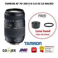 Tamron Lens AF 70-300 f/4-5.6 Di LD Macro for Canon SLR 1300D/700D/70D