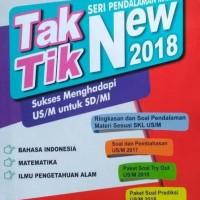 Tak Tik New 2018 Latihan Soal Ujian Nasional UN SD 2018