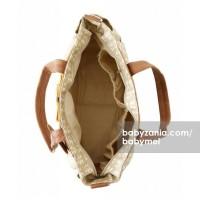 Babymel Diaper Bag Cara Petal Beige T2909