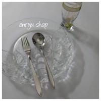 Jual sendok & garpu stainless steel/korean spoon Murah