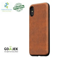 Original Nomad Horween Leather Case IPhone X - Brown