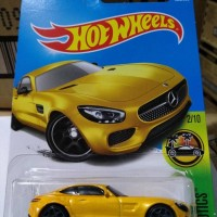 C0023-HOT WHEELS / HOTWHEELS-'15 MERCEDES-AMG GT-KUNING