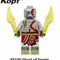Kratos KF339 God Of War Game Movie Minifigure Ghost of Sparta