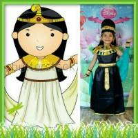 Kostum Anak Perempuan Baju Negara Mesir Warna Hitam Import