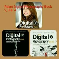 Paket Digital Photography Book 2 & 3 & 4
