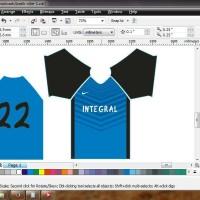 Bikin Kaos Futsal / Sepak Bola Desain sendiri