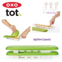 OXO TOT Baby Food Freezer Tray Transp Silicon lid/baby cubes/food jar