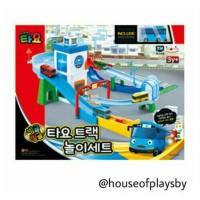 SET MAINAN THE LITTLE BUS TAYO TRACK PLAY SET IMPORT KOREAN ANIMATION