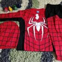 Jual Baju Spiderman/baju anak/baju karakter superhero/baju anak laki Murah