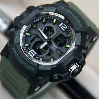 Jam Tangan Anti Air G-Shock GA201 Green Army