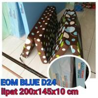 KASUR LIPAT BUSA INOAC UK 200X145X10 CM (EOM BLUE D24)