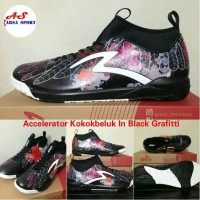 Sepatu Futsal Specs Accelerator Kokokbeluk In Black Grafitti Futsall