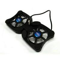 Cooling Pad Mini kipas angin Lipat Pendingin Untuk Laptop
