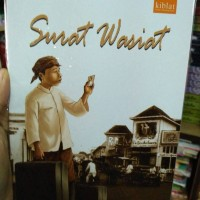 Novel Sunda Surat Wasiat - Samsoedi
