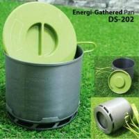 ALAT MASAK CAMPING / COOKING SET ENERGY GATHERED PAN DS-202 / PANCI