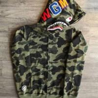 ab46d001 BAPE Hoodie WGM Green Camo L Size