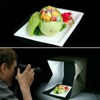 mini foto studio light box mini photo studio dengan led