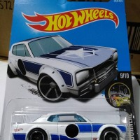 S0002 - HOTWHEELS / HOT WHEELS - NISSAN SKYLINE H/T 2000GT-X - PUTIH