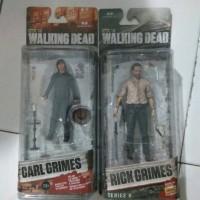 Jual Original The Walking Dead paket 2 pcs Carl dan Rick Grimes Murah