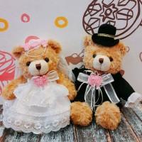 Boneka Wedding / anniversary / kado / hadiah boneka / hadiah