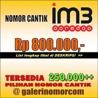 INDOSAT IM3 MENTARI CANTIK -- 800RB (2 OF 2)
