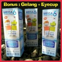 Jual Botol Mega 6 Far Infrared Hydrogen Water (Free Gelang Black Jade) Murah