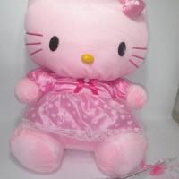 Jual Boneka Hello Kitty Baju Dress Cantik - Hello Kitty Cantik Ukuran 50cm Murah