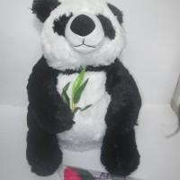Jual Boneka Panda Rumput Duduk 50Cm - Boneka Panda Jumbo Murah