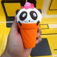 Jual J's Store Squishy - Ice Cream Strawberry Panda Squishy Es Krim  Murah