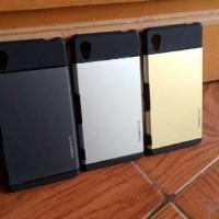 SPIGEN Sony Xperia M4 Aqua Slim Armor Soft Hard Case Casing HP TPU