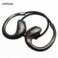 MPow Edge Wireless Bluetooth Sport Headset - IPX4 Waterproof Earphone
