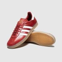 Sepatu Sneakers Adidas Originals Gazelle Red White Original