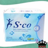 Jual Sco Bio Herbal Sanitary Pad Day Use 10 Pads Murah